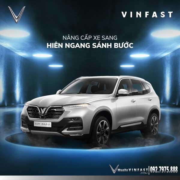 Giá xe VinFast Lux SA2.0