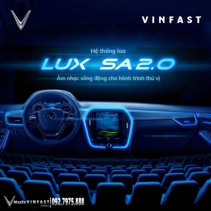 Hệ thống âm thanh Lux SA2.0