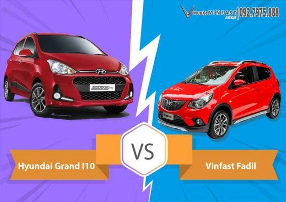 VinFast Fadil vs Hyundai i10