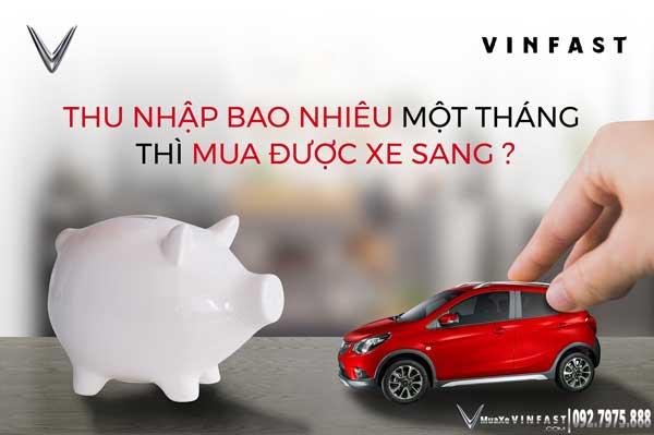 Chi phí mua xe VinFast